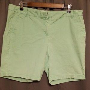 J. Crew women's Bermuda shorts size 14